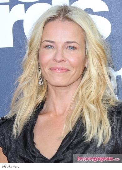 Chelsea Handler Wavy Hairstyle 2011 MTV Movie Awards