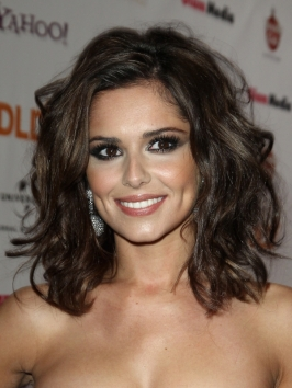 Cheryl Cole Medium Wavy Hairstyle