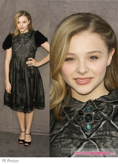 Chloe Moretz in Chanel Dress