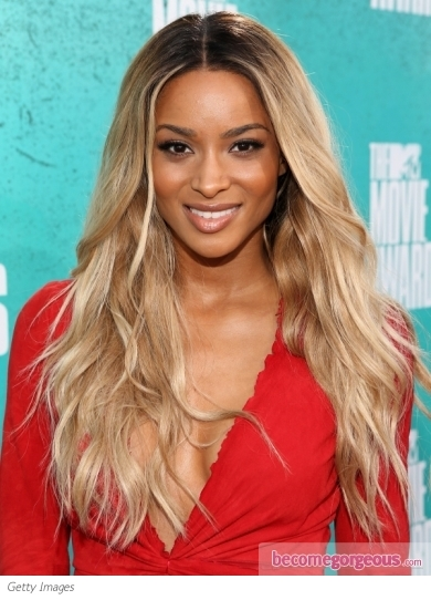 Ciara's New Blonde Hair Color