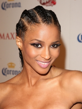 Ciara's Cornrow Braids Hairstyle