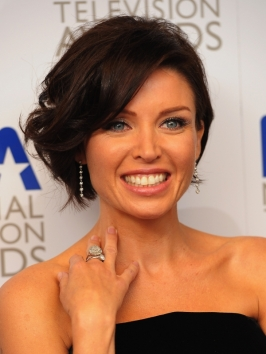 Dannii Minogue Wavy Bob Hairstyle
