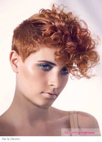 curly mohawk hairstyles. Curly Mohawk Hair Style