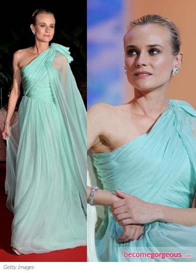 Diane Kruger in Giambattista Valli Gown