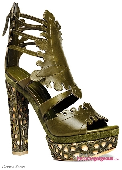 Turn yourself into a summer sylph and wear these Donna Karan Beige Platform Strappy Sandals to highlight your feminine allure. Thanks to the comfy structure of these footwear designs you'll have the chance to sport them regardless of the event and season.