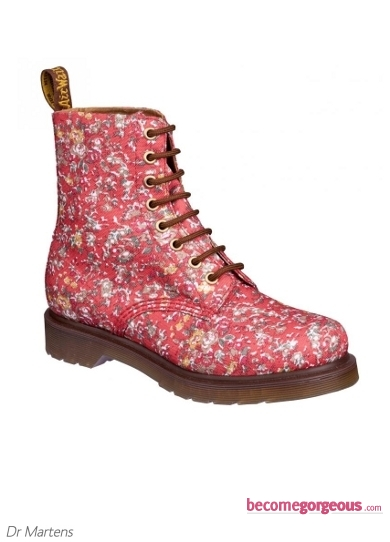 Dr. Martens Coral Meadow Boots