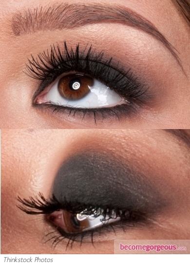 Simple Smokey Eye Makeup Look