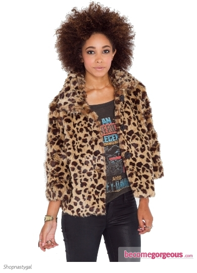 Edie Faux Fur Coat