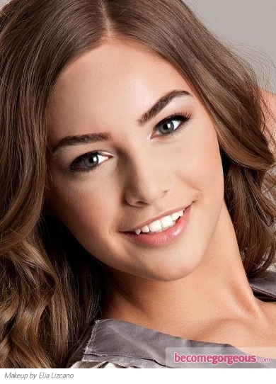look natural make college for  up/photos/school_makeup/soft_light_pink_school_makeup I3694#image makeup