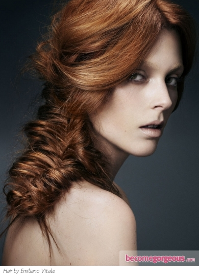 Chic Long Fishtail Braids