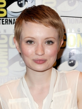 Emily Browning Short Pixie Haircut