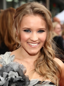Emily Osment's Half Updo Hairstyle