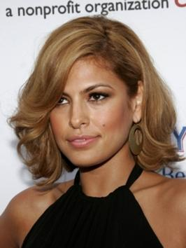 Eva Mendes Long Bob Haircut