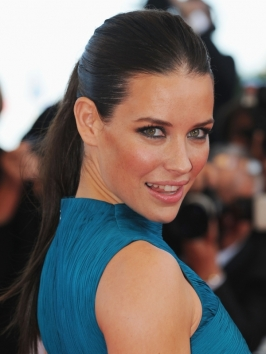 Evangeline Lilly's High Pony Hairstyle
