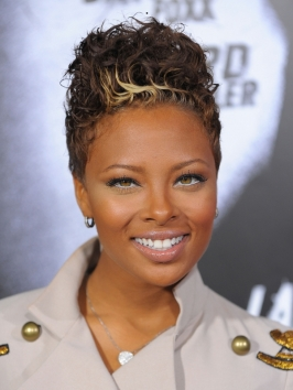 Eva Marcille Short Curly Hairstyle