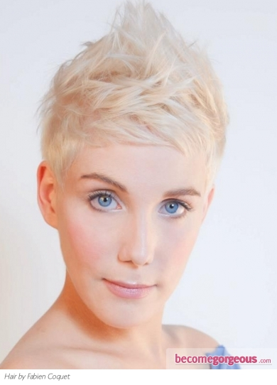 Fab Short Layered Pixie Haircut