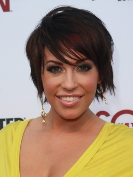 Farah Fath Short Choppy Shag Hairstyle