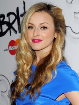 Fearne Cotton Blonde Hair with Lowlights