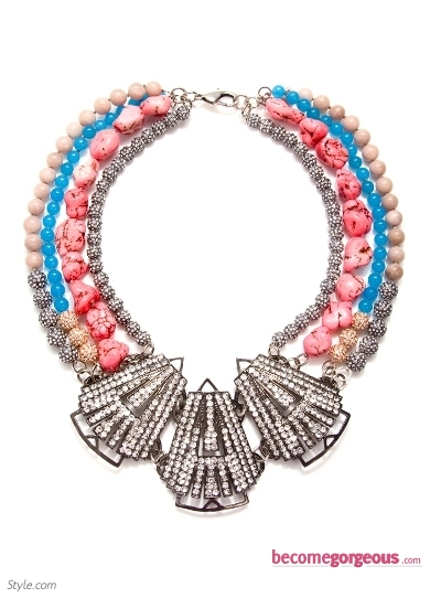 Fenton Colorful Statement Necklace
