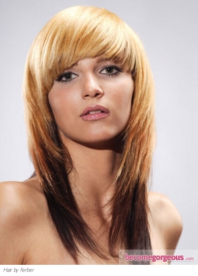 Chic Multi-Toned Hair Style