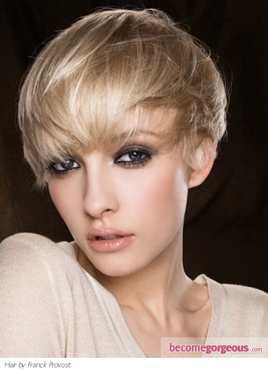 plat hairstyles. Close-Cropped Short Hair Style