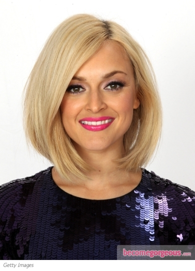 Fearne Cotton Blunt Bob Hairstyle