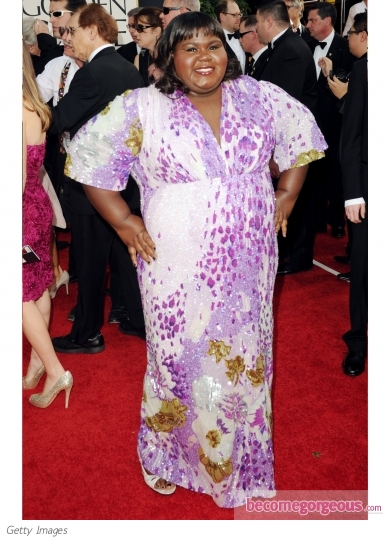 Gabourney Sidibe in Marc Bouwer