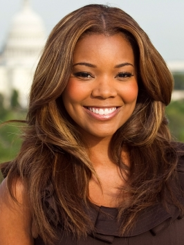Gabrielle Union Rich Brown Hair Color  Makeup Tips And Fashion