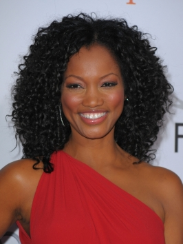 Garcelle Beauvais Tight Curly Hairstyle