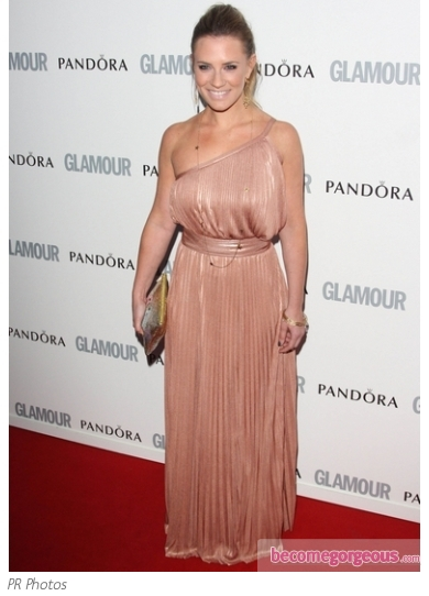 Georgie Thompson One Shoulder Maxi Dress