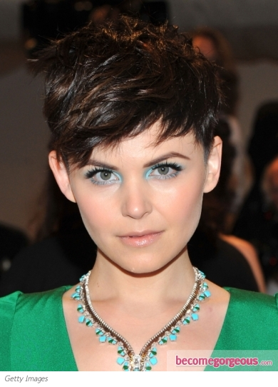Ginnifer Goodwin Short Hairstyle 2011 Met Gala