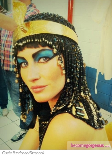 Gisele Bundchen as Cleopatra