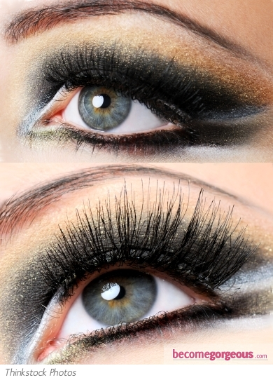Glam Dark Smokey Eyes Makeup Look