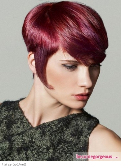 haircuts 2014 pictures hairstyles glam magenta haircut 2069