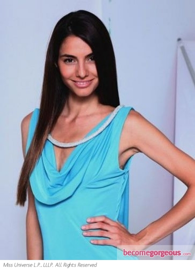 Miss Greece Iliana Papageorgiou