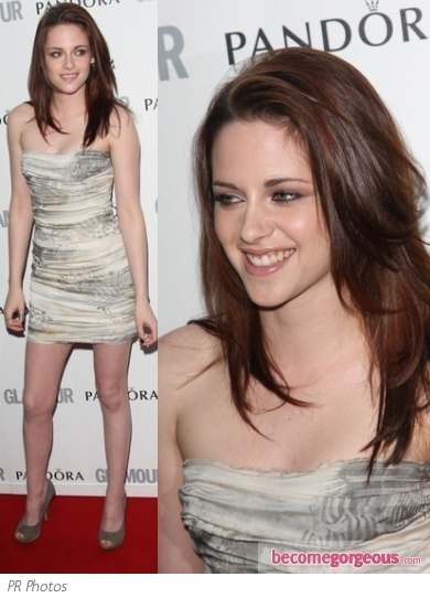 Kristen Stewart in Balmain Mini Dress