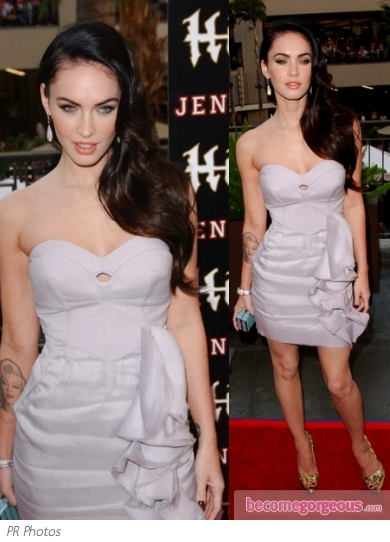 Megan Fox in Antonio Berardi Dress