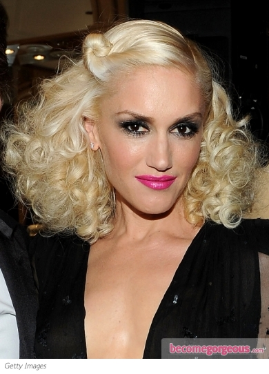 Gwen Stefani Curly Hairstyle 2011 Cannes
