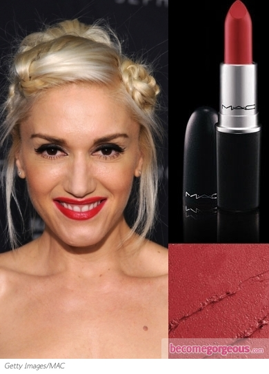 red lipstick mac. MAC Ruby Woo Lipstick on