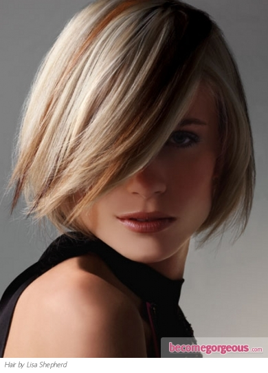 Blonde Hair With Honey Hair Highlights