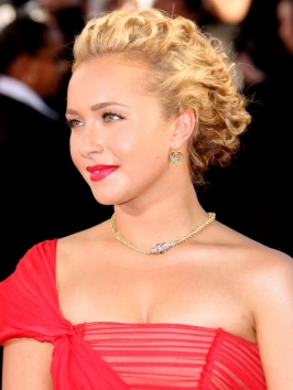 Hayden Panettiere Hairstyle at the 2009 Emmy Awards