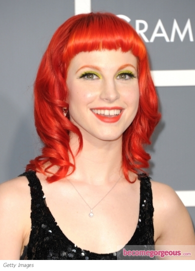 paramore hayley williams hairstyles. Paramore#39;s Hayley Williams