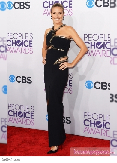Heidi Klum's Dress at 2013 People's Choice Awards