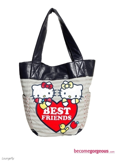 Hello Kitty Best Friends Tote Bag