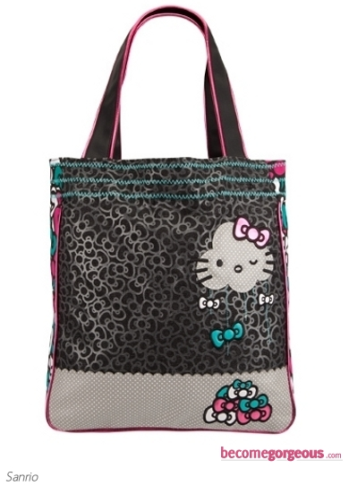 Hello Kitty Raining Bows Handbag