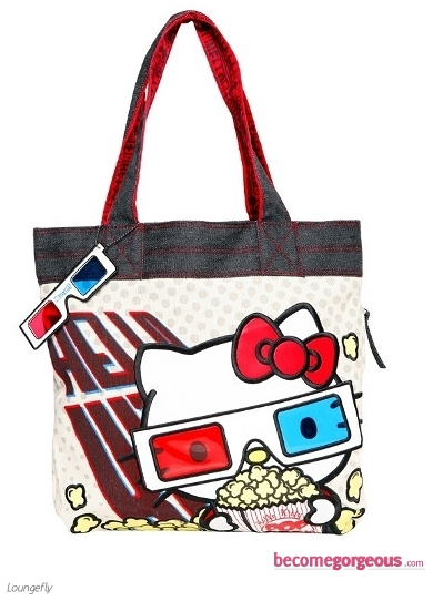 Hello Kitty Movie Canvas Tote Bag