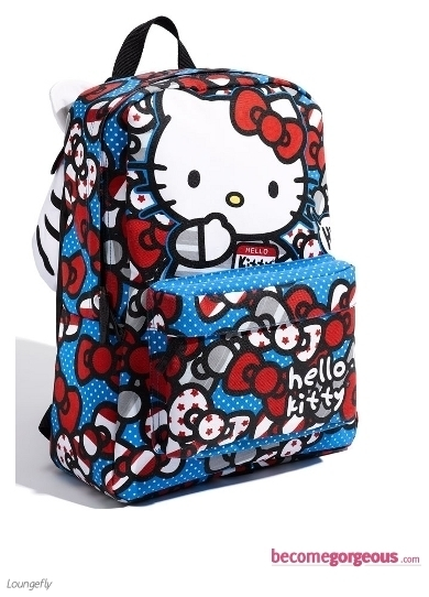 Check out the hottest Hello Kitty Movie Canvas Tote Bag with the extra 3D glasses to make sure you stay on trend with the newest craze that surround this adorable feline.