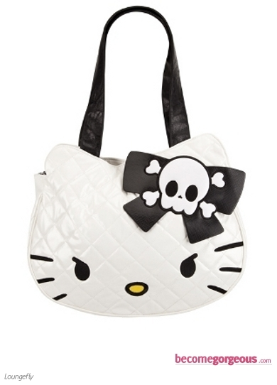 Hello Kitty Angry Kitty Handbag