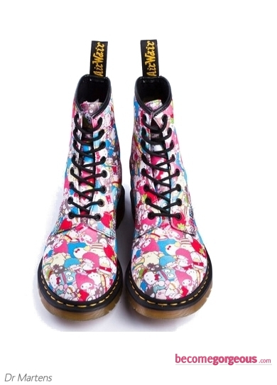 Dr Martens Hello Kitty Colorful Boots
