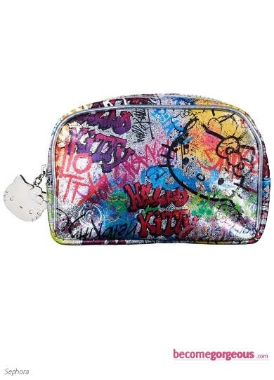 Hello Kitty Grafitti Makeup Bag